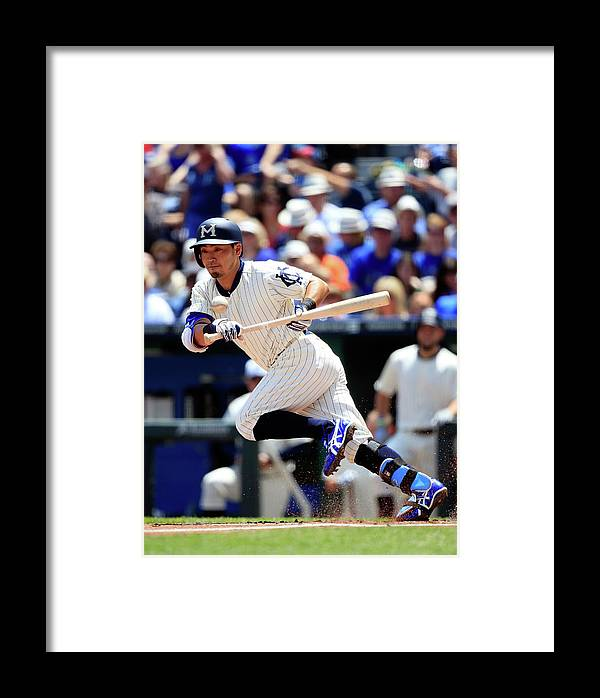 American League Baseball Framed Print featuring the photograph Baltimore Orioles V Kansas City Royals 5 by Jamie Squire