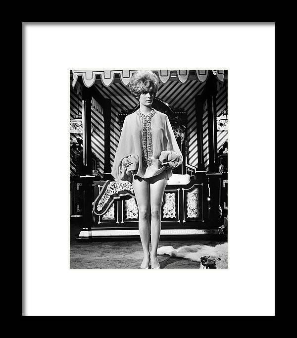 Jill St. John Framed Print featuring the photograph Jill St. John by Silver Screen