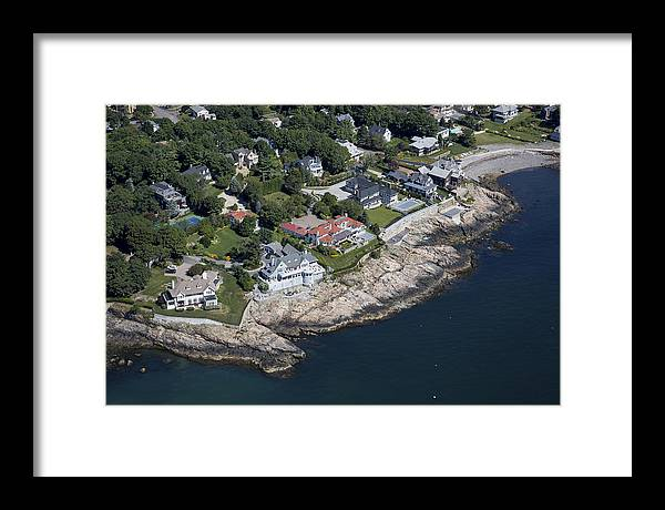 America Framed Print featuring the photograph Marblehead, Massachusetts Ma by Dave Cleaveland