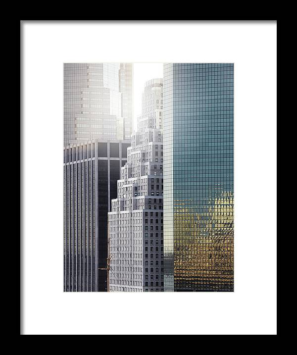 Tranquility Framed Print featuring the photograph New York by Henrik Sorensen