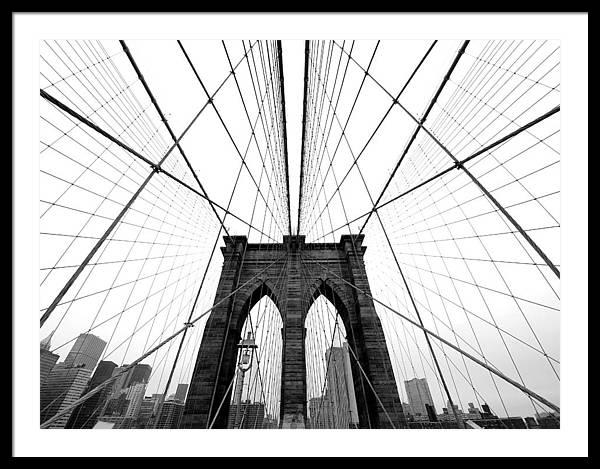 NYC Brooklyn Bridge by Nina Papiorek