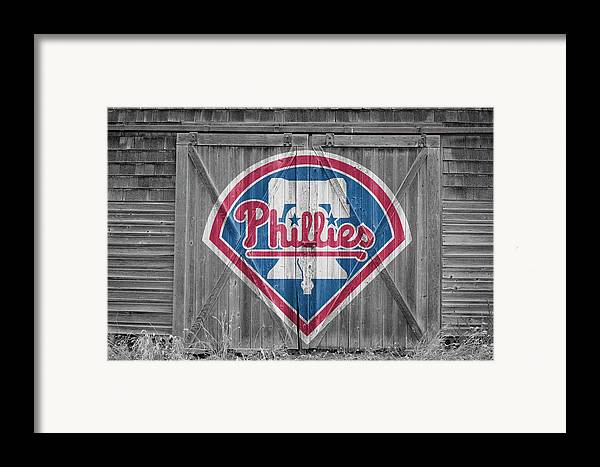 Phillies Framed Print featuring the photograph Philadelphia Phillies by Joe Hamilton