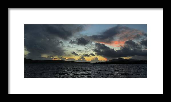 Sunset Framed Print featuring the photograph Sunset In Dingle by Barbara Walsh