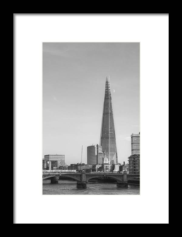 Shard Framed Print featuring the photograph The Shard by Chris Day