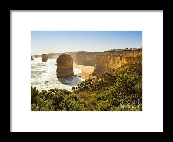 Australia Framed Print featuring the photograph Twelve Apostles by Tim Hester