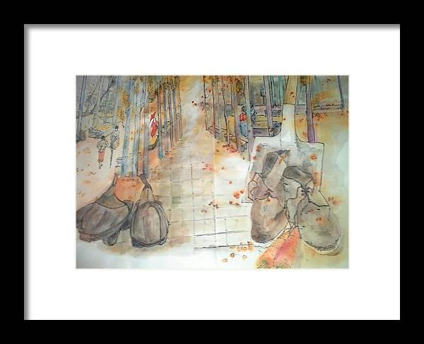 Van Gogh. Paintings. Framed Print featuring the painting Van Gogh My Way Album by Debbi Saccomanno Chan