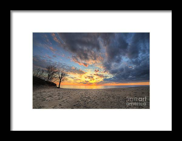 Warren Dunes Framed Print featuring the photograph Warren Dunes State Park by Twenty Two North Photography