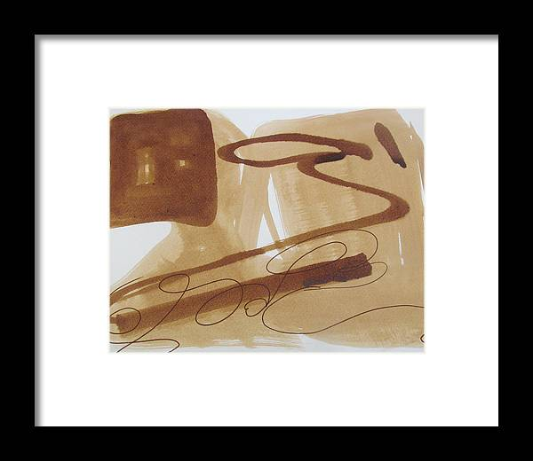 July Art Plus Misc Framed Print featuring the painting Untitled by Camille Glenn