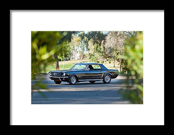 1965 Shelby Prototype Ford Mustang Framed Print featuring the photograph 1965 Shelby Prototype Ford Mustang by Jill Reger