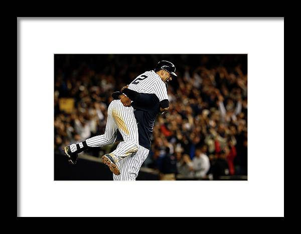 Ninth Inning Framed Print featuring the photograph Baltimore Orioles V New York Yankees 6 by Elsa