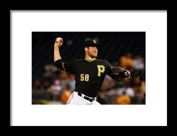 Professional Sport Framed Print featuring the photograph Chicago Cubs V Pittsburgh Pirates by Justin K. Aller