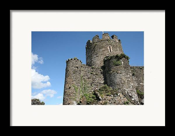 Castles Framed Print featuring the photograph Conwy Castle by Christopher Rowlands