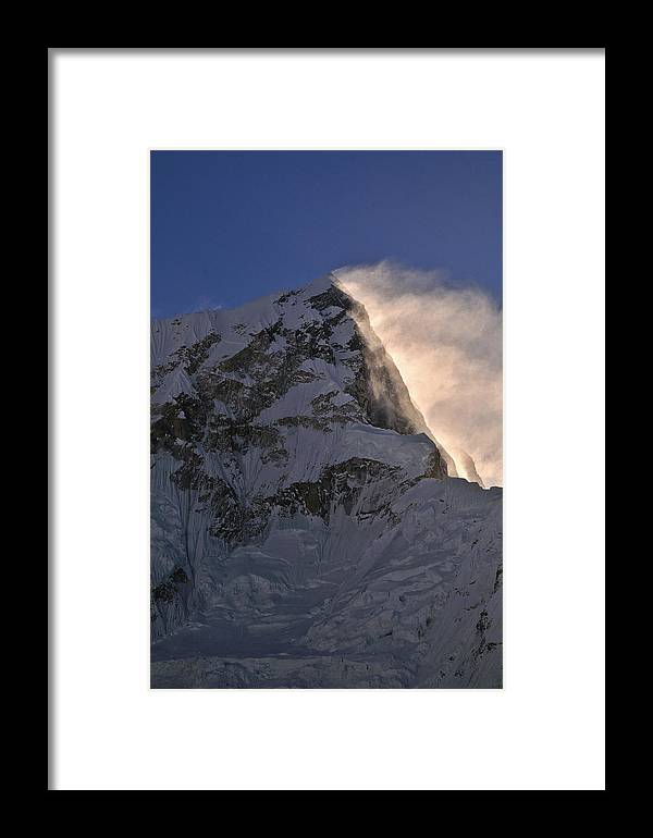Nepal Framed Print featuring the photograph Himalayan Sunrise by Mark Rasmussen