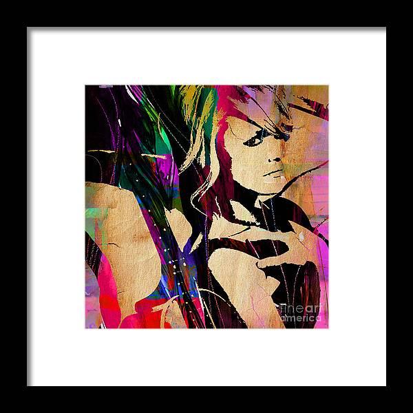 Miranda Lambert Framed Print featuring the mixed media Miranda Lambert Collection by Marvin Blaine