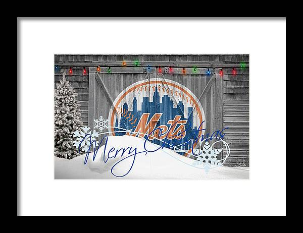 Mets Framed Print featuring the photograph New York Mets by Joe Hamilton