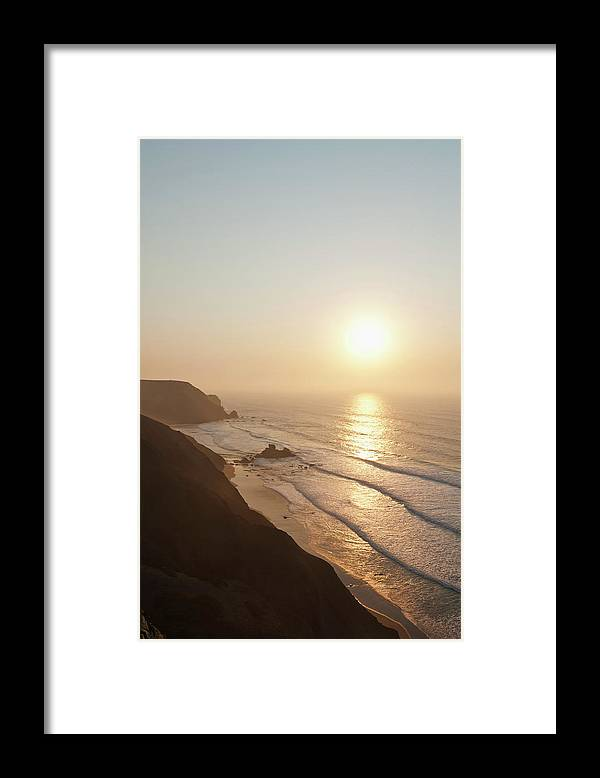 Algarve Framed Print featuring the photograph Portugal, Algarve, Sagres, View Of by Westend61
