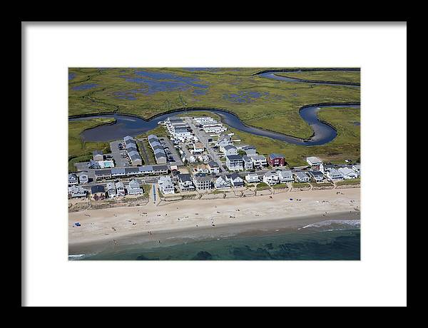 America Framed Print featuring the photograph Salsbury, Massachusetts Ma by Dave Cleaveland