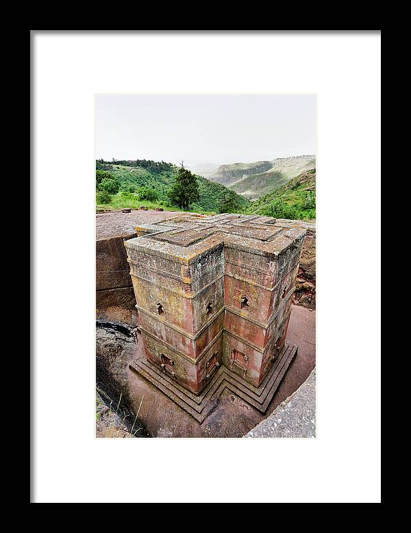 Abyssinia Framed Print featuring the photograph The Rock-hewn Churches Of Lalibela by Martin Zwick