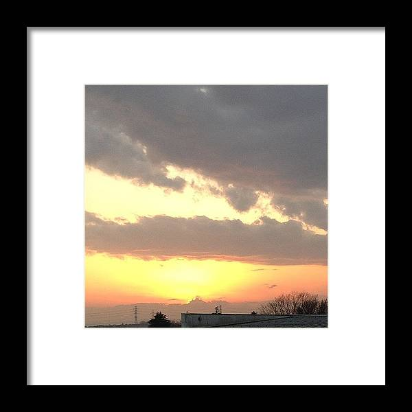 Mt Framed Print featuring the photograph Instagram Photo by Tokyo Sanpopo