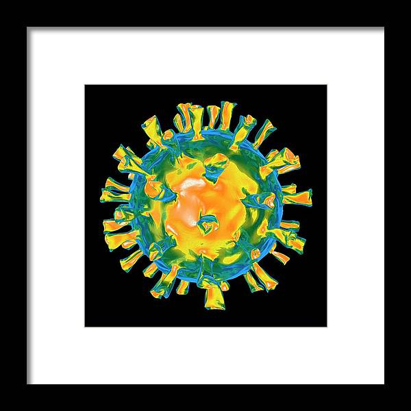 Virus Framed Print featuring the photograph Virus by Mehau Kulyk