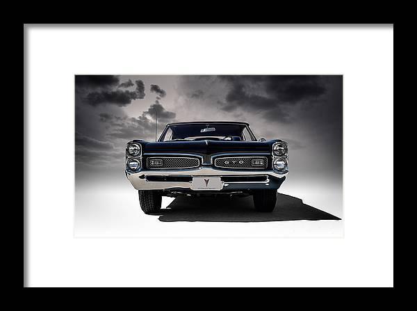 Transportation Framed Print featuring the digital art '67 Gto 67 by Douglas Pittman