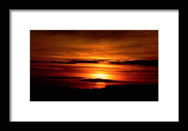 Sunset Framed Print featuring the photograph 675. by Pavel Jankasek