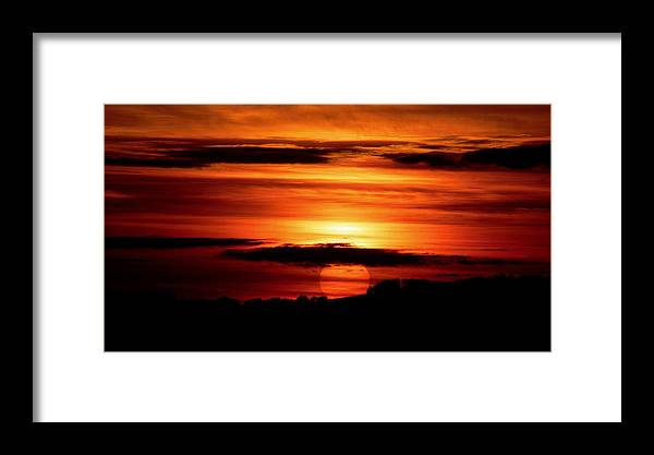 Sunset Framed Print featuring the photograph Sunset by Pavel Jankasek