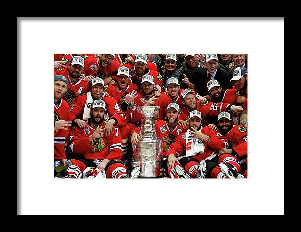 Playoffs Framed Print featuring the photograph 2015 Nhl Stanley Cup Final - Game Six by Dave Sandford