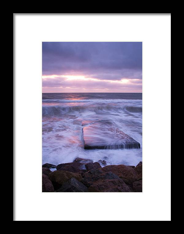 Travel Framed Print featuring the photograph Ballyconnigar Strand At Dawn by Ian Middleton
