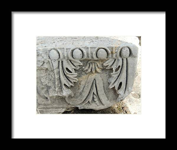 Ephesus Framed Print featuring the photograph Ephesus by Paul Sandilands