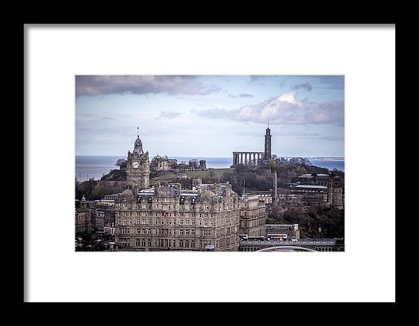 Edinburgh Framed Print featuring the photograph Edinburgh by Michael Schofield