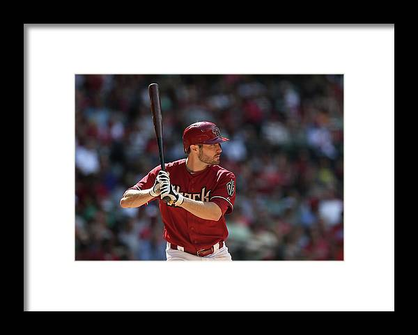 National League Baseball Framed Print featuring the photograph Philadelphia Phillies V Arizona by Christian Petersen