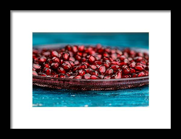 Pomegranate Framed Print featuring the photograph Pomegranate by Nailia Schwarz