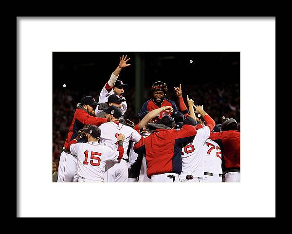 St. Louis Cardinals Framed Print featuring the photograph World Series - St Louis Cardinals V by Rob Carr