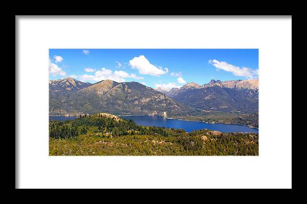 Bariloche Framed Print featuring the photograph Bariloche Argentina by Jim McCullaugh