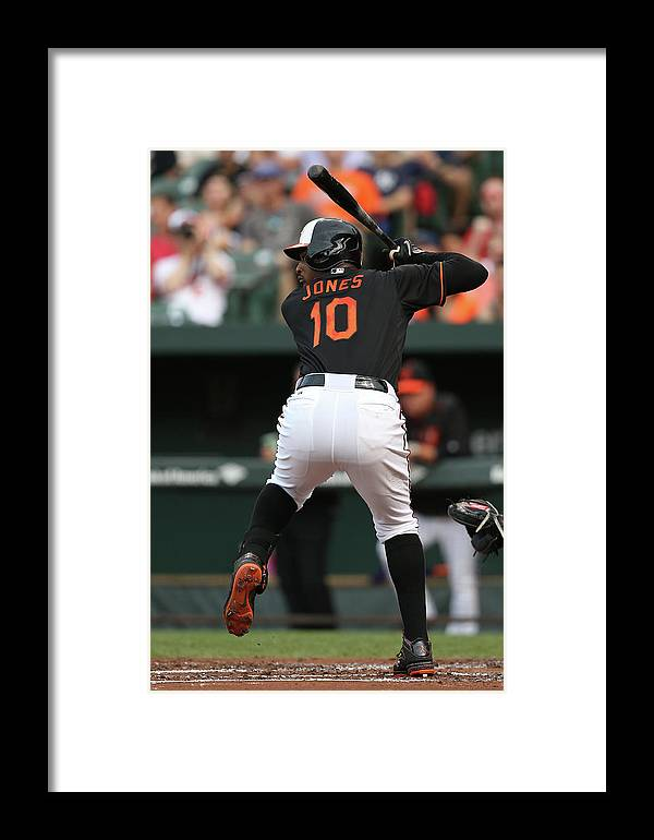 People Framed Print featuring the photograph New York Yankees V Baltimore Orioles 9 by Patrick Smith