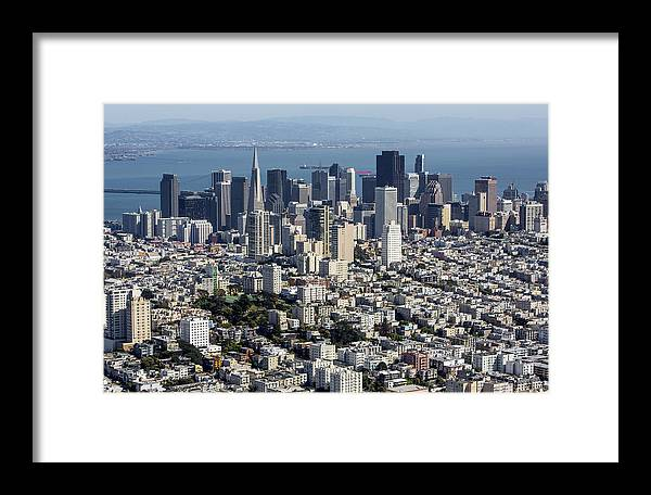 America Framed Print featuring the photograph San Francisco, California Ca by Dave Cleaveland