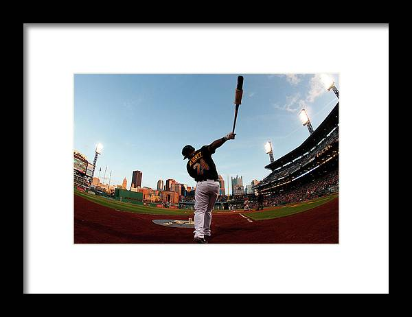 Professional Sport Framed Print featuring the photograph St Louis Cardinals V Pittsburgh Pirates by Justin K. Aller