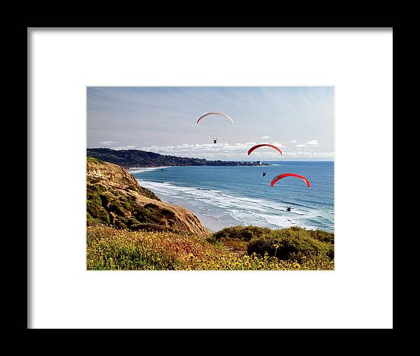 Afternoon Framed Print featuring the photograph Usa, California, La Jolla by Ann Collins