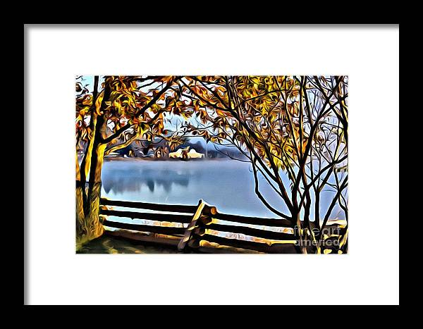 Water Framed Print featuring the photograph 9339 by Charles Cunningham