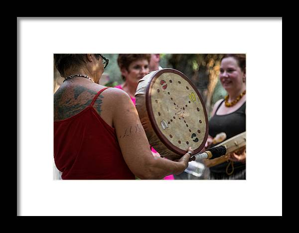 Music Framed Print featuring the photograph Serenata by Marit Runyon