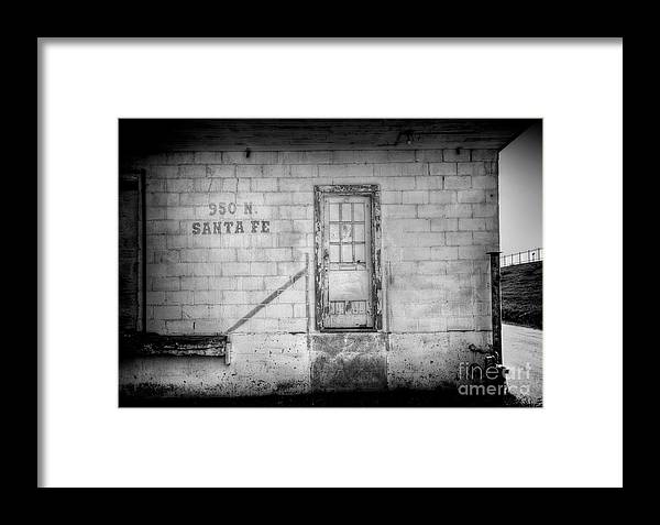 Factory Framed Print featuring the photograph 950 Santa Fe by Fred Lassmann