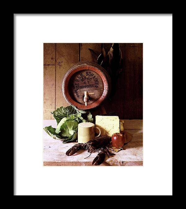 Nobody Framed Print featuring the photograph A Barrel Of Beer by N. Courtney Owen
