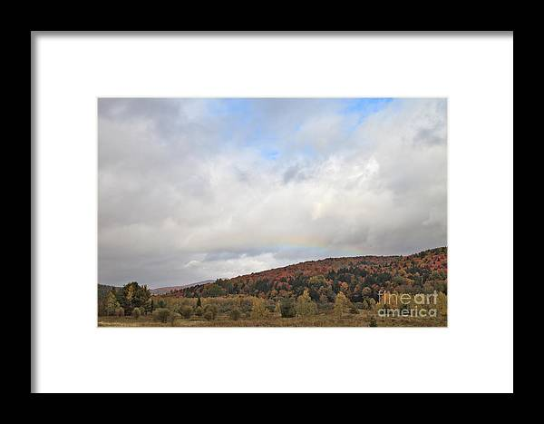 Rainbow Framed Print featuring the photograph A Break For Color by Charles Kozierok