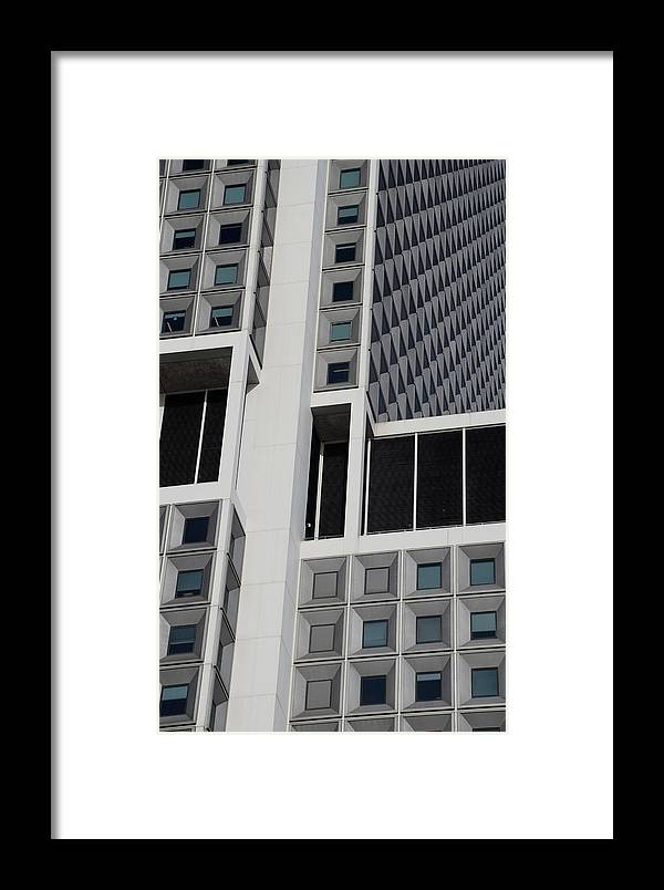 Scenic Framed Print featuring the photograph A Break In The Glass by Rob Hans