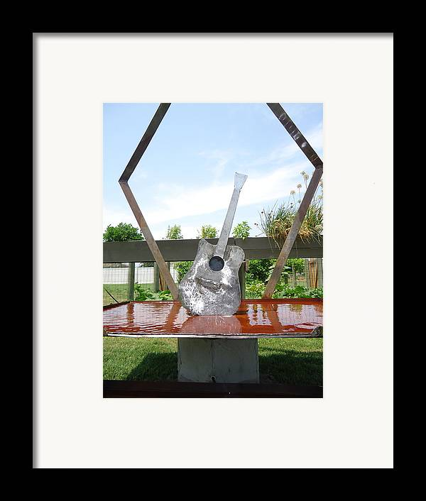 Nature Framed Print featuring the sculpture A Chance No Strings Attached by Matthew Padlo