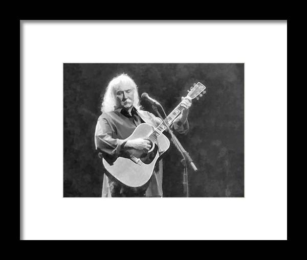 Crosby Stills Nash Concert Portrait Framed Print featuring the photograph A Classic Forevermore by Alice Gipson