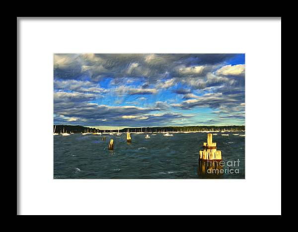 Oyster Bay Framed Print featuring the photograph A Day At Oyster Bay by Jeff Breiman