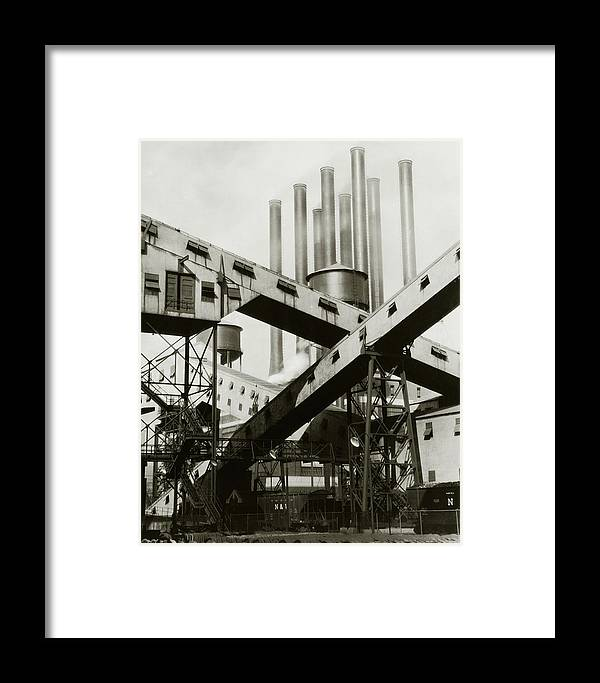 Detroit Framed Print featuring the photograph A Ford Automobile Factory by Charles Sheeler