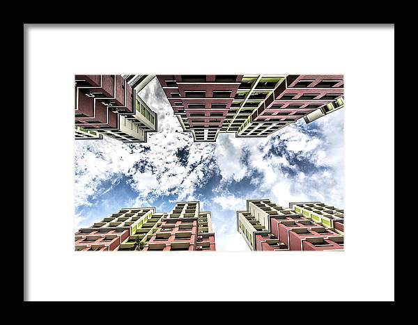 Elevator Framed Print featuring the photograph A Good Day To Die Hard by Jijo George